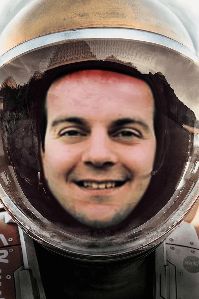Jelle Martian Poster