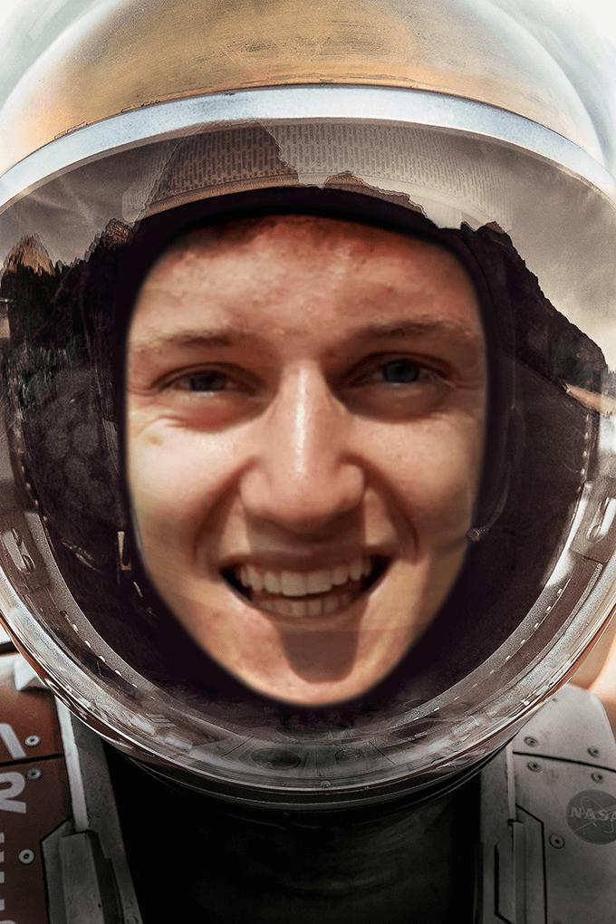 Simon Martian Poster